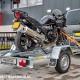 motortrailer met motor