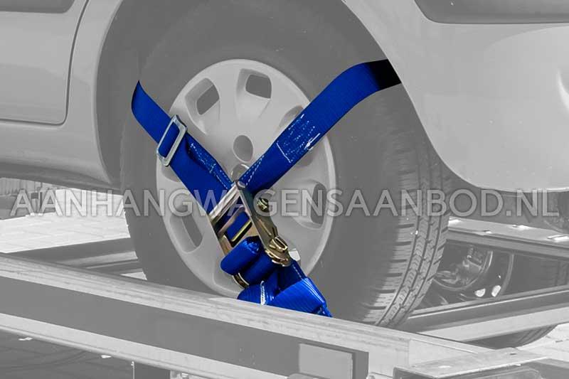Auto spanband speciaal voor autotransport